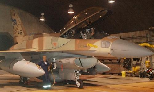Một tiêm kích F-15 của Israel chuẩn bị cất cánh trước chiến dịch Orchard. Ảnh: IDF.