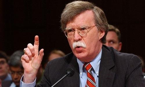 Ông John Bolton, cố vấn an ninh quốc gia mới được Tổng thống Mỹ Donald Trump chỉ định. Ảnh: Reuters.