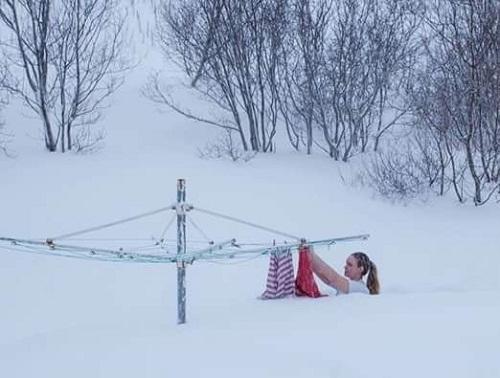 Nỗi buồn mùa đông.
