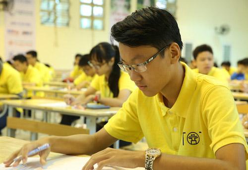Học sinh 10 nước tham dự kỳ thi Toán học Hà Nội mở rộng