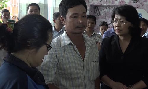 Phó Chủ tịch nước đến thăm các nạn nhân trong vụ cháy
