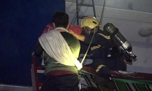 Cuộc giải cứu ở chung cư Carina của lính cứu hỏa