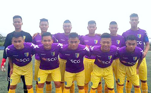 CLB Hà Nội FC B. Ảnh: VFP.