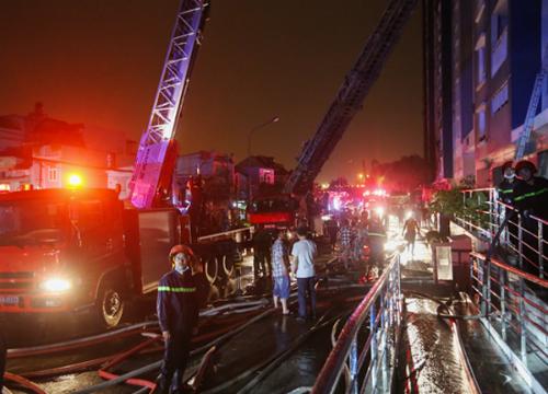 Vụ cháy khiến 13 người thiệt mạng, 28 người bị thương. Ảnh: Quỳnh Trần