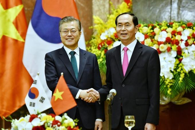 Hoạt động của Tổng thống Hàn Quốc trong chuyến thăm đến Hà Nội