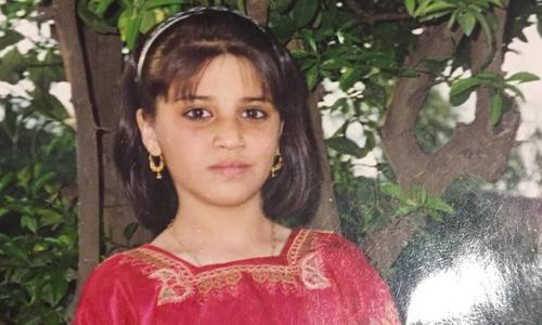 Naila sau khi đính hôn năm 8 tuổi. Ảnh: Sun.