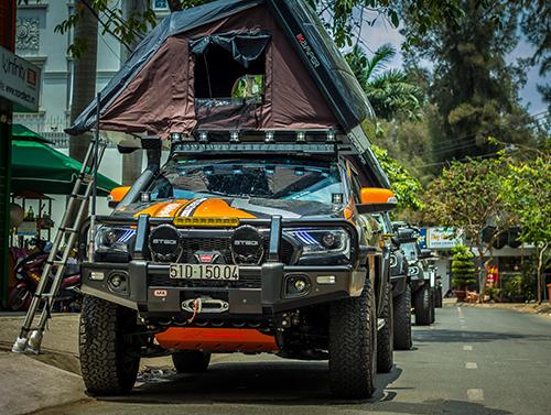 Mẫu Ford Ranger độ hơn nửa tỷ đồng tại Việt Nam.