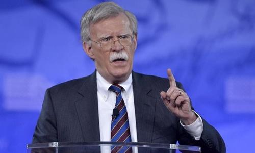 Tân cố vấn an ninh quốc gia Mỹ John Bolton. Ảnh: AFP.