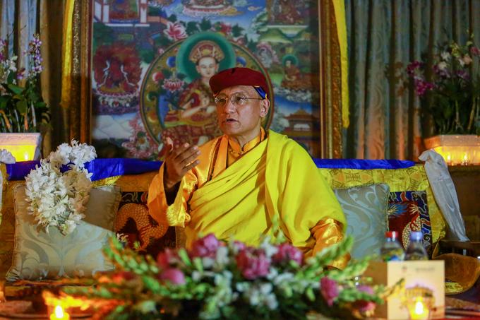 Đức Gyalwang Drukpa hưởng ứng Giờ Trái Đất tại TP HCM