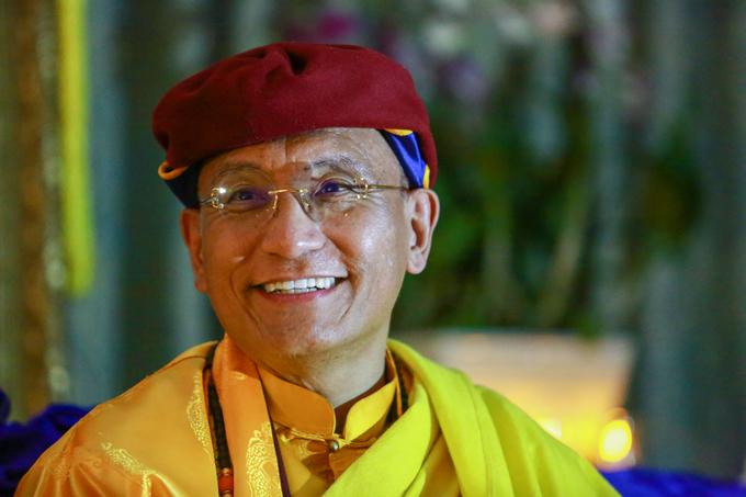 Pháp Vương Drukpa hưởng ứng Giờ Trái Đất tại TP HCM
