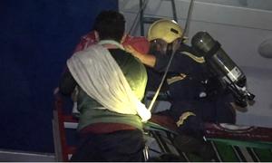 Lính cứu hỏa phải nói dối đang diễn tập khi cứu bé gái từ tầng cao Carina