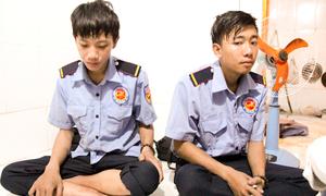 Hai bảo vệ chung cư Carina cứu hàng chục người thoát khỏi đám cháy