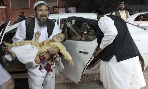 Vụ tấn công làm 14 người chết, trong đó có các trẻ em. Ảnh: AP.
