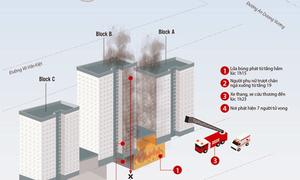 Cháy chung cư Carina - hoả hoạn nghiêm trọng nhất trong hơn chục năm ở TP HCM