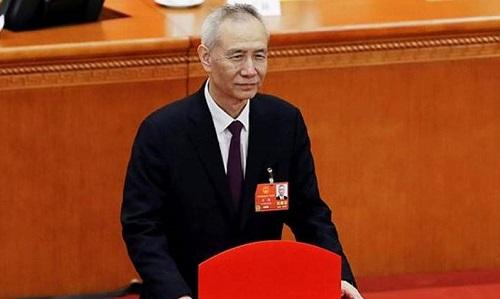 Phó thủ tướng Trung Quốc Lưu Hạc. Ảnh: Reuters.