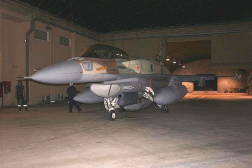 Một trong những chiếc F-16I tham gia chiến dịch Orchard. Ảnh: IAF.