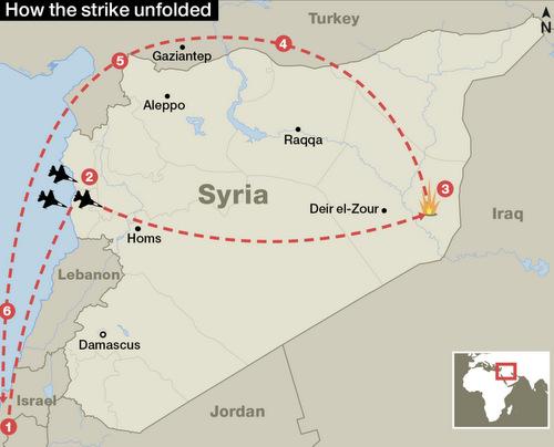 Chiến dịch ném bom xóa sổ cơ sở hạt nhân Syria của Israel năm 2007