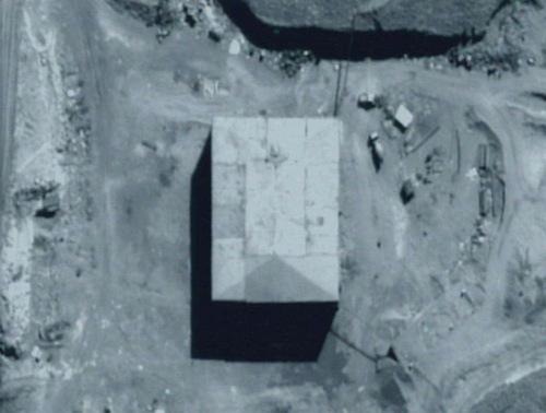 Cơ sở hạt nhân của Syria trước cuộc tấn công. Ảnh: IAF.