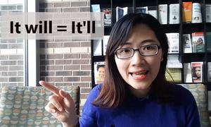 Cách nói dạng rút gọn của 'It will' trong tiếng Anh Mỹ