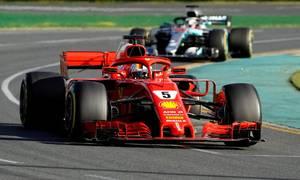 Vettel thắng chặng mở màn mùa giải F1