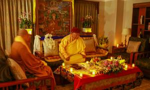 Đức Gyalwang Drukpa tham gia hưởng ứng sự kiện Giờ Trái Đất tại TP HCM
