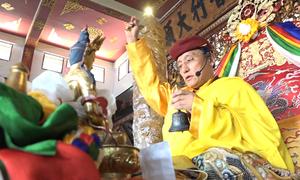 Đức Gyalwang Drukpa khai đàn cầu quốc thái dân an tại TP HCM
