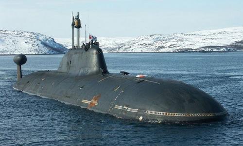 Một tàu ngầm lớp Shchuka-B trở về căn cứ. Ảnh: Livejournal.