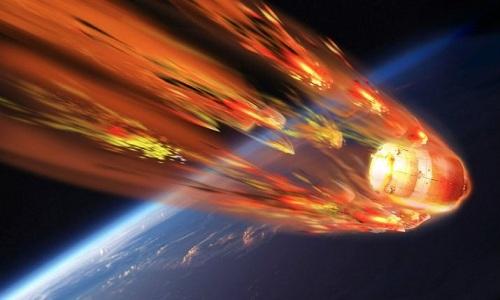 Trạm Thiên Cung 1 được dự đoán sẽ rơi xuống Trái Đất trong khoảng giữa ngày 30/3 và 3/4. Ảnh: Outer Places.