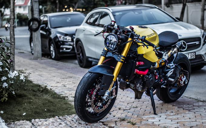 Dân chơi Việt chi hàng trăm triệu độ Ducati phong cách cafe racer