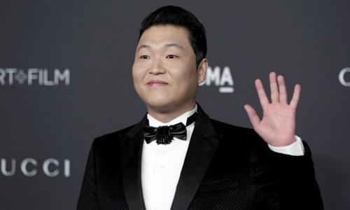 Nam ca sĩ Psy của Hàn Quốc. Ảnh: Reuters.