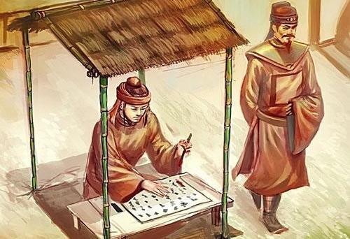 Nguyễn Công Trứ thành anh lính canh giữ biên giới. Ảnh minh họa.