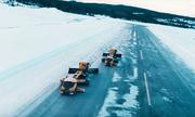 Xe tự hành dọn 357.500 mét vuông tuyết mỗi giờ
