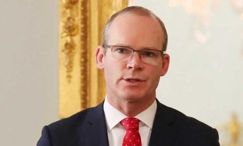 Ngoại trưởng Ireland Simon Coveney. Ảnh: RTE.