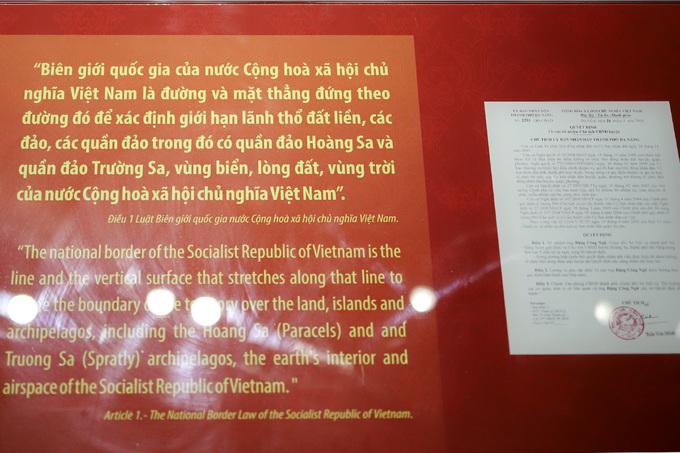 Nhà trưng bày đầu tiên về chủ quyền Hoàng Sa của Việt Nam