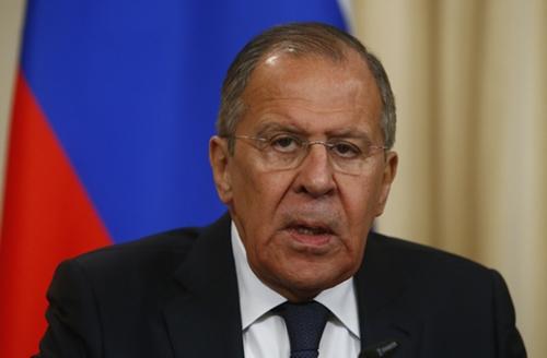 Ngoại trưởng Nga Sergei Lavrov. Ảnh: Reuters.