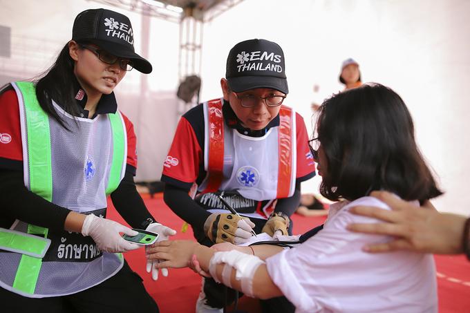 10 đội y tế ASEAN diễn tập ứng phó thảm họa do siêu bão ở Đà Nẵng