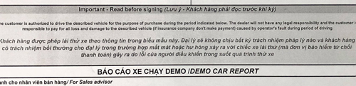 Thực hư chuyện khách Việt phải đền gần 100 triệu vì đâm hỏng xe lái thử - 1