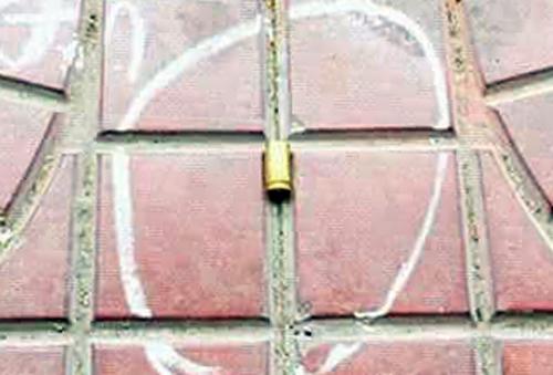 Vỏ đạn rơi tại hiện trường. Ảnh: Sơn Nguyễn.