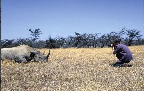 Nữ tác giả gắn bó với động vật hoang dã Jan Latta đến Việt Nam