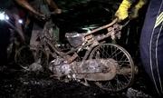 150 xe máy gãy nát được kéo ra khỏi hầm chung cư Carina