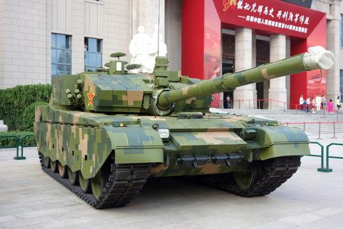 Xe tăng chiến đấu chủ lực Type-99 Trung Quốc. Ảnh: Wikipedia.