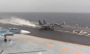 Nga công bố video chiến đấu cơ không kích IS từ tàu sân bay
