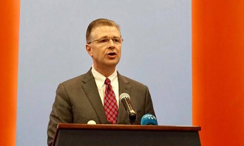 Đại sứ Mỹ tại Việt Nam Kritenbrink. Ảnh: VA.