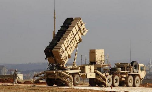 Bệ phóng tên lửa Patriot của Arab Saudi. Ảnh: Military Edge.