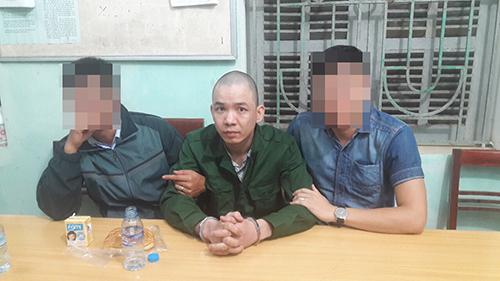 Nguyễn Văn Tình khi bị bắt.