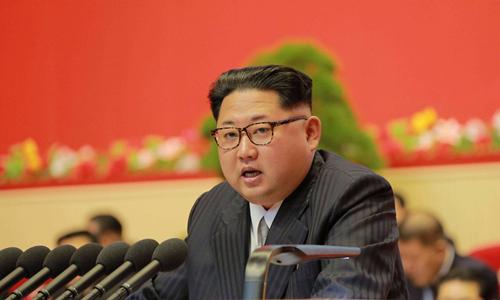 Nhà lãnh đạo Triều Tiên Kim Jong-un. Ảnh: KCNA/Reuters.