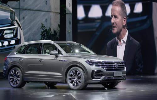 VW Touareg 2019ra mắt tại Trung Quốc.