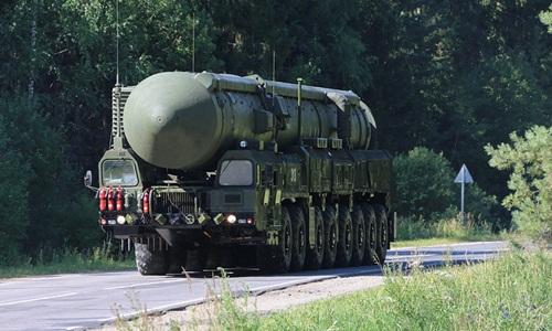 Một hệ thống tên lửa đạn đạo của Nga. Ảnh:Tass.