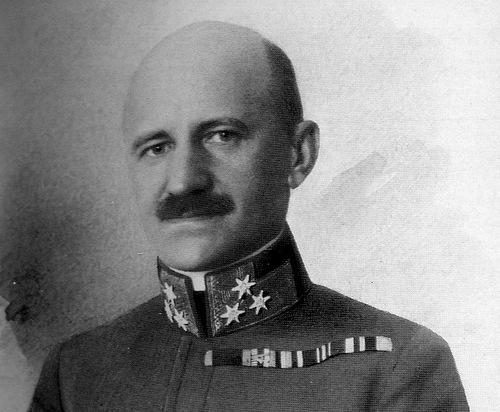 Ronge khi trở thành chỉ huy lực lượng tình báo Áo-Hung. Ảnh: War History.