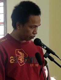 Bị cáo Đào Văn Châu nhận mức án tử hình. Ảnh: Cửu Long